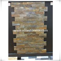 Wholesale ES-S01 Rusty slate stacked culture stone veneer from china suppliers