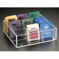 Wholesale Acrylic Boxes & Cases Acrylic Tea Bag Box from china suppliers