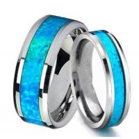 China Jewelry Queenwish Vintage Opal Tungsten Carbide Rings Jewelry on sale