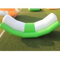 China Amusement Park Inflatable Outdoor Toys Floating Seesaw Rocker For Water Sport Games on sale