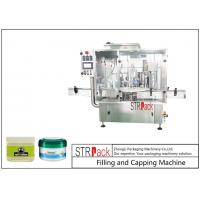 Wholesale 10g-100g Lotion Cream Jar Filling And Capping Machine For Cosmetics Industry from china suppliers