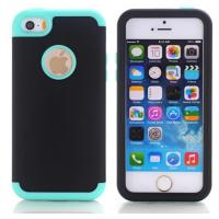 Cover For iPhone 5C Case Silicone TPU + Plastic Shockproof Coque