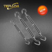 Buy cheap 316 Stainless Steel 1 Inch Thread Heavy Duty Hook and Hook US Type Forged Turnbuckle from wholesalers