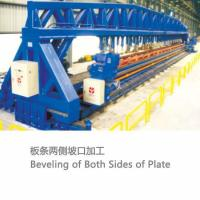 Beveling of Both Sides of Plate