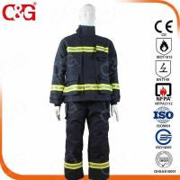 China Nomex IIIA Flame Resistant Clothing Nomex IIIA fabric Fire Fighting Suit on sale
