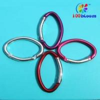 Wholesale 8CM Oval-shaped Aluminum Carabiner from china suppliers