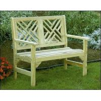 "46"" Treated Pine Chippendale Garden Bench"