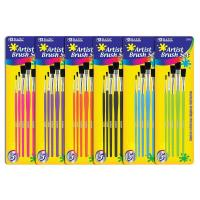 Wholesale Arts & Crafts BAZIC Asst. Size Paint Brush Set (5/Pack) $ 2.59 from china suppliers