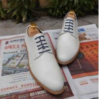 China SKP24- Brand Color White Shoes Men's Oxford Leathe Shoes on sale