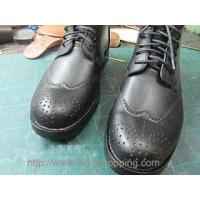 LZHB02 Brand Goodyear craft leather short boots shoes in hand ca