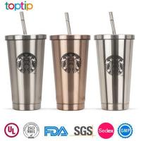 Wholesale Starbucks Stainless Steel Tumbler with Straw from china suppliers