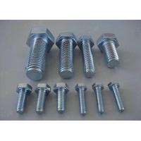 Wholesale Carbon Steel Metric Hex Head Bolts Screws 4.8 8.8 Grade DIN933 DIN93116mm-70mm from china suppliers