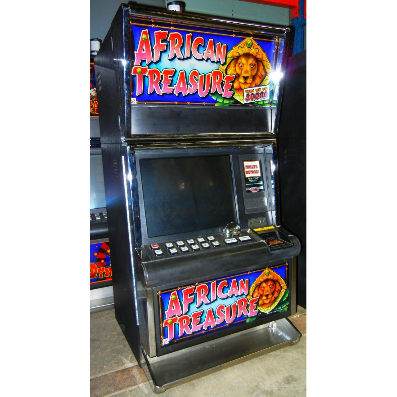 Buy cheap SLOT MACHINES AFRICAN TREASURE from wholesalers