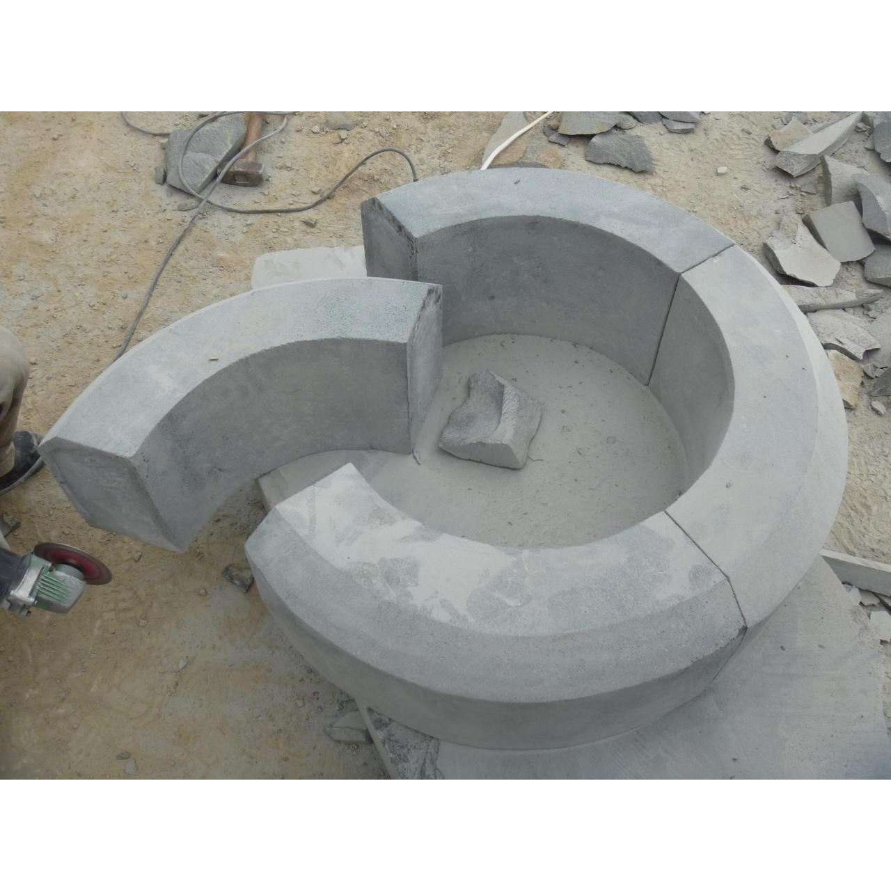 Wholesale Grey Basalt Column from china suppliers
