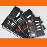 Wholesale A4 / A5 / A6 Custom Notebook with elastic band & ribbon from china suppliers