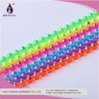 Wholesale China Cheap Price SS8 Fluorescence Ab Plastic Rhinestone Banding For Jewely Finding from china suppliers