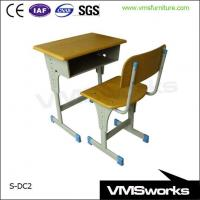 China Single Kids School Tables And Chairs Set For Sale on sale