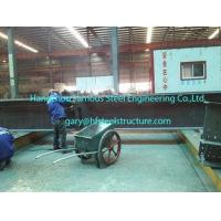 Fabricating Pre Engineered Commercial Steel Buildings With H Section Pillars / Beams