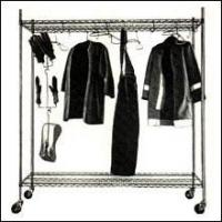 Structural Groves Air Dry Laundry Rack and Gear Storage Rack
