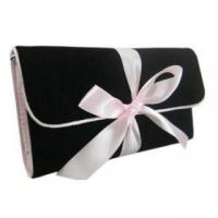 Wholesale Quality velvet cosmetic bag from china suppliers