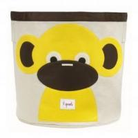 Wholesale 3 Sprouts Storage Bin Yellow Monkey from china suppliers