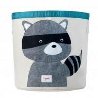 Wholesale 3 Sprouts Storage Bin Grey Raccoon from china suppliers