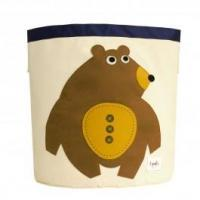 Wholesale 3 Sprouts Storage Bin Toffee Bear from china suppliers