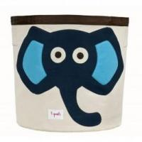 Wholesale 3 Sprouts Storage Bin Blue Elephant from china suppliers