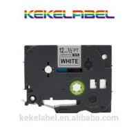 Wholesale compatible Brother black on white P-touch Label tape cassette for Label Makers TZe231 TZe-231 from china suppliers