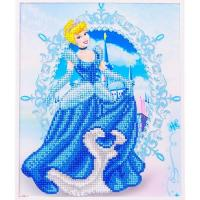Wholesale Princess DIY Crystal Diamond Painting With Wooden Frame For Kids 25*30cm For Sale from china suppliers