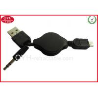 USB A male +3.5 mm DC to Mini 5Pin cable