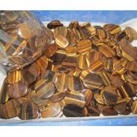 Wholesale Ornaments Tiger eye slices from china suppliers