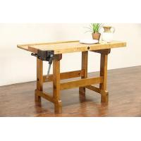 Wholesale Butcher Block Maple Work Bench, Kitchen Island, Wine Table, Clamp Pat 1884 from china suppliers