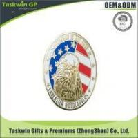 Wholesale Hot sale customized soft enamel America Eagle pin badge from china suppliers