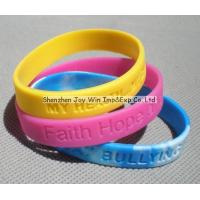 Wholesale Silicone Wrist Band,Debossed Silicone Wristband from china suppliers