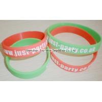 Wholesale Silicone Wrist Band,Debossed Color Filled Logo from china suppliers