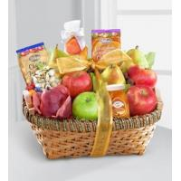 Wholesale Sympathy Flowers Warmhearted Wishes Fruit & Gourmet Kosher Gift Basket from china suppliers