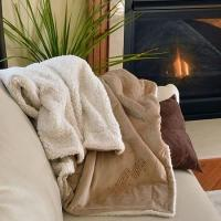 Wholesale New & Noteworthy Music Staff Micro Mink Sherpa Blanket from china suppliers