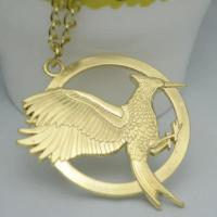 Wholesale Big European And American Gucci Jewelry New Mockingjay Hunger Games Spark Bird Necklace from china suppliers