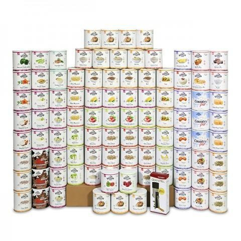 Quality Food Supply Kits Premium One Year Kit for sale