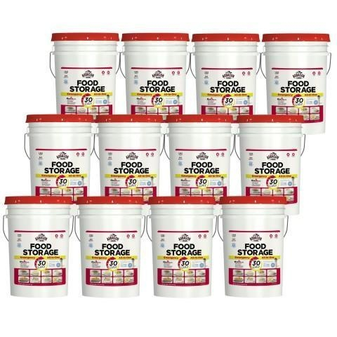 Quality Food Supply Kits One Year Emergency Food Storage All-in-One Pail Kit for sale