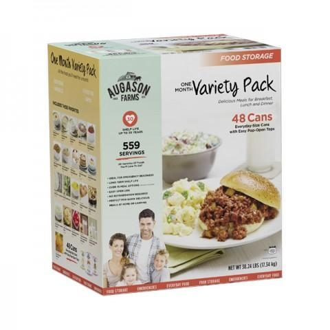 Quality Food Supply Kits One Month Pack for sale