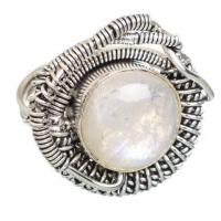 Buy cheap Ana Silver Co Rainbow Moonstone 925 Sterling Silver Ring Size 8 RING773112 from wholesalers