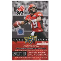 China 2015 Upper Deck CFL Football Hobby Box on sale