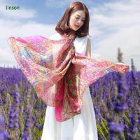 Wholesale 90x90cm Silk Square Scarf Women Fashion Style High Quality 100% Silk from china suppliers