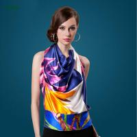 Wholesale China Manufacturer Supplies Digital Printed Long Silk Scarves With Cheap Price from china suppliers