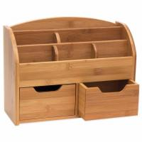 Wholesale 100% Natural Bamboo Desk Organizer with 3 Drawers from china suppliers