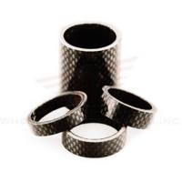 Wholesale Wheels Manufacturing 1-1/8-inch Carbon Spacer (bag Of 5), 2.5mm from china suppliers