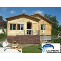 Prefabricated House Kits House , Light Steel Structure Wooden House , Different Color Ceiling