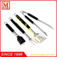 Wholesale 4-piece plastic handle BBQ tool set from china suppliers